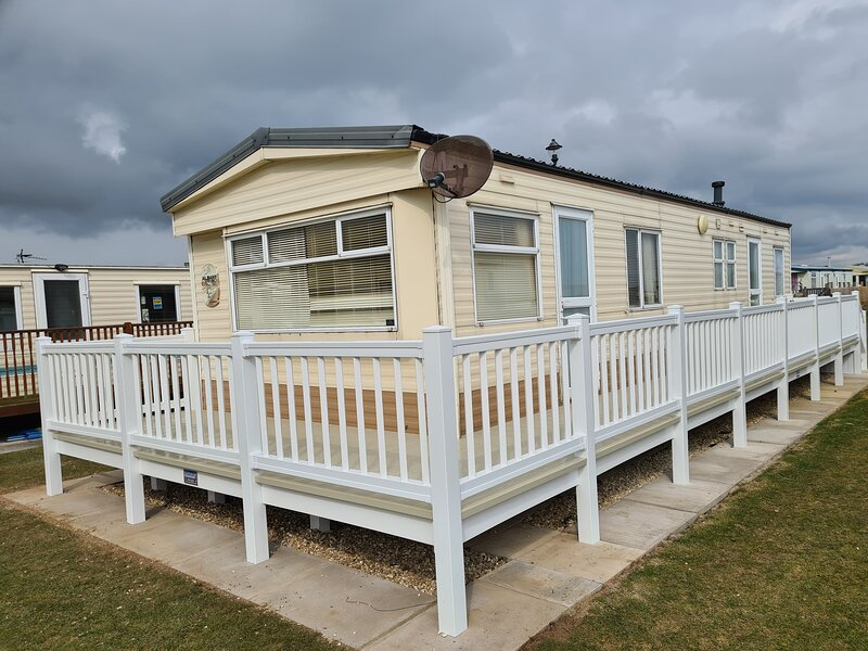 8 Berth blow heated on The Chase (Albany), aluguéis de temporada em Skegness