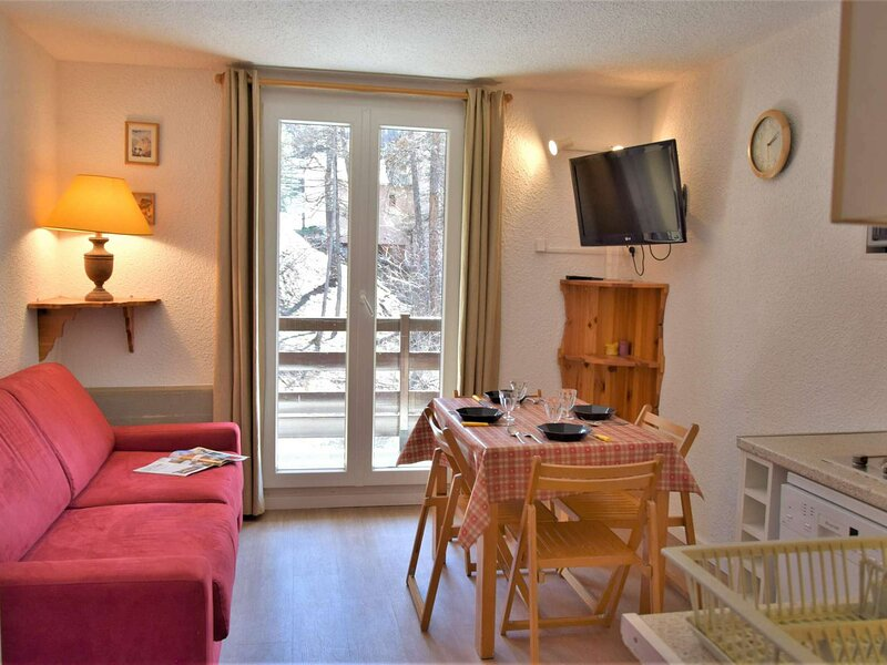 Appartement Studio coin montagne 4 couchages RISOUL 1850, holiday rental in Saint-Andre-d'Embrun