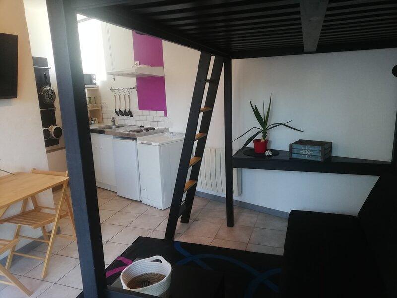 Agréable studio au pied des parcs ostréicoles, vakantiewoning in Marennes