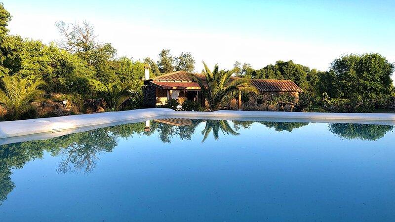 Aprisco de Candeleda es una finca con una hermosa casa de alquiler completo., holiday rental in Villanueva de la Vera