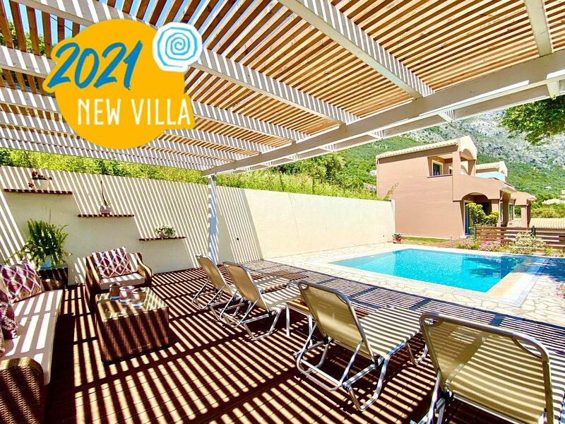 Villa Barbati Dream with private pool, vacation rental in Barbati