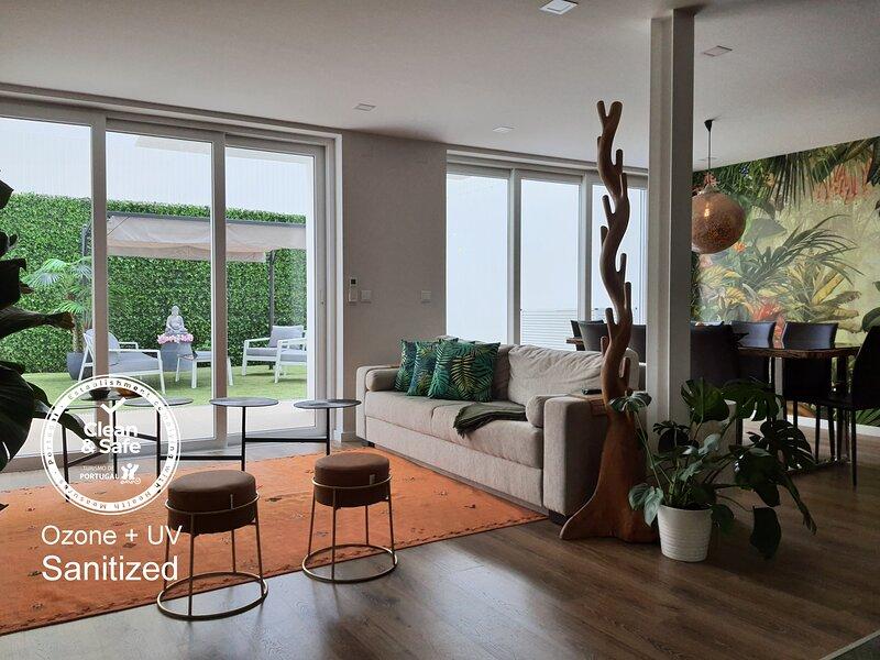 Exotic Fusion double Suite with Garden, casa vacanza a Bélem