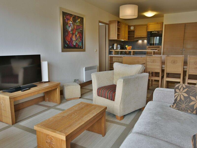 Détendez vous en famille dans ce beau 2 chambres, alquiler de vacaciones en Flaine