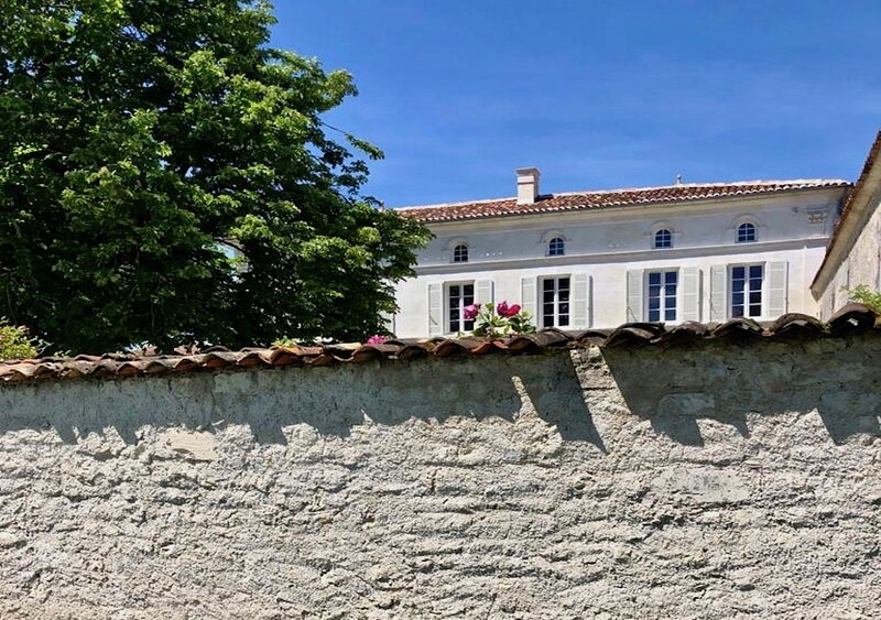 The owners house a traditional Maison Maitre