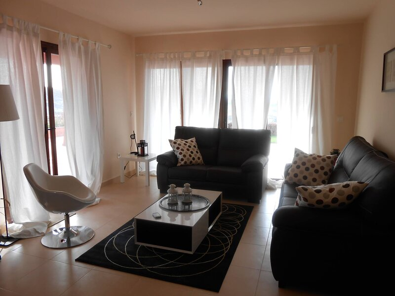 Appartement direct on the golf course and swimmingpool, holiday rental in Lorca