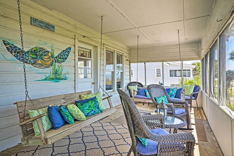 Edisto Island Vacation Rental   2BR   1BA   Stairs Required to Access