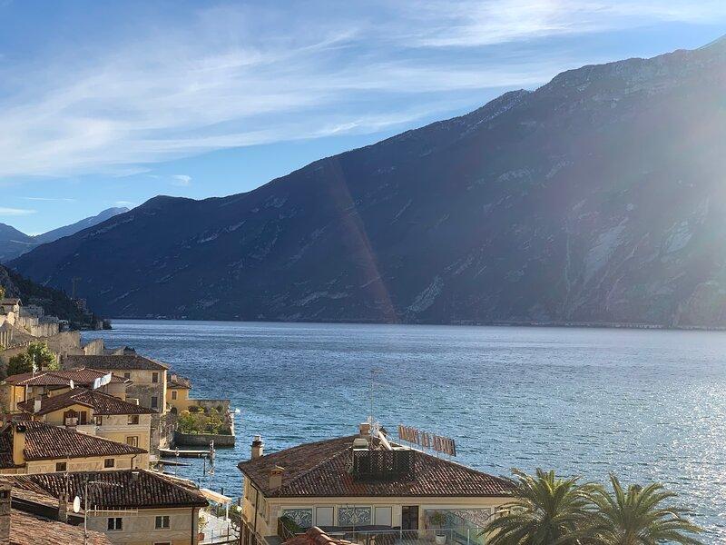 Villa castello appartamento vista lago, holiday rental in Limone sul Garda