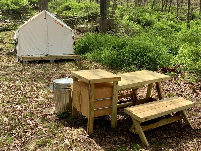Tentrr State Park Site - NY Harriman State Park - Old Comfort Station at Lake, holiday rental in Tuxedo Park