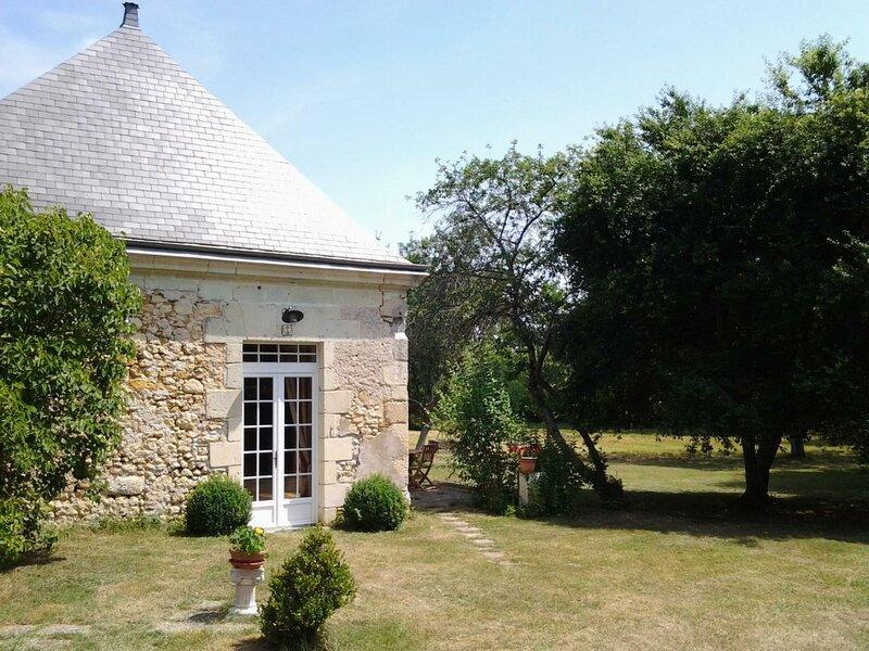 Maison du jardin, location de vacances à Rivarennes