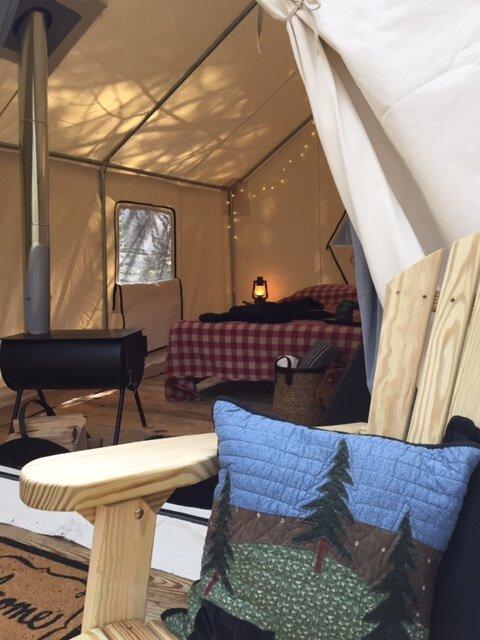 Tentrr Signature Site - Adirondack, vacation rental in Maine