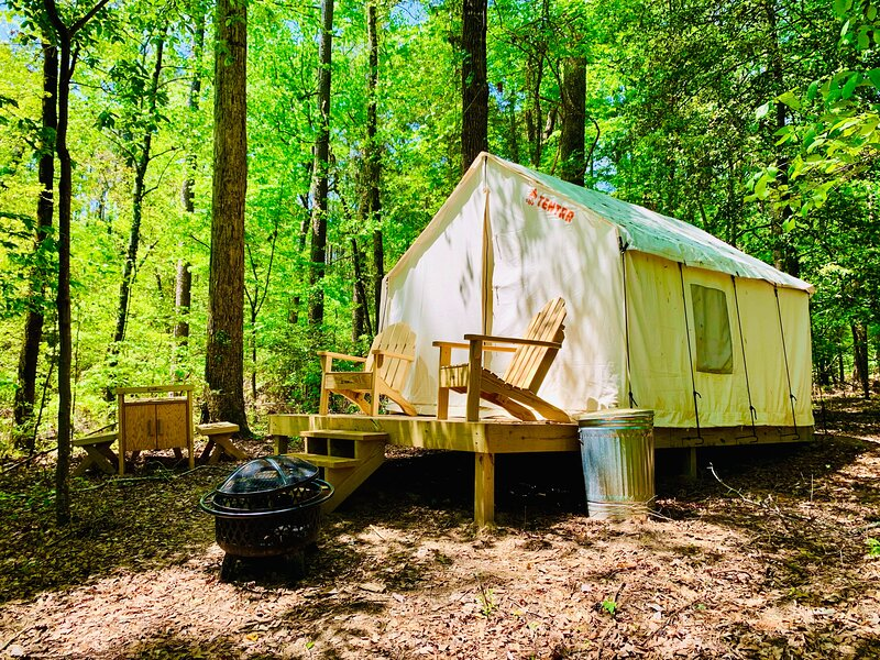 Tentrr State Park Site - Lake D'Arbonne State Park Site D, vacation rental in Ruston