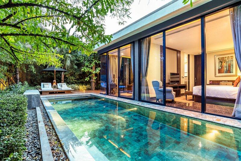 Ban Hua Na Villa Sleeps 3 with Pool and Air Con - 5812041, alquiler vacacional en Ban Khao Takiap