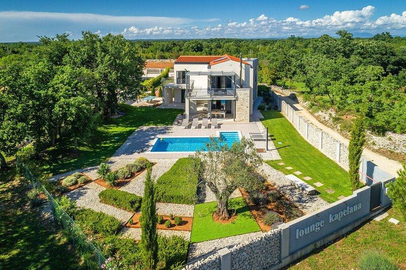 Villa Lounge Kapelana with pool, location de vacances à Jursici