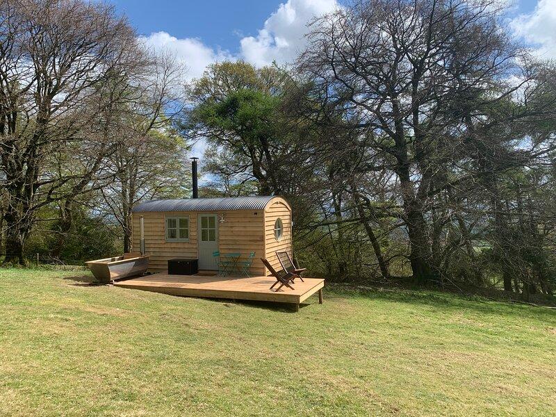Exmoor Shepherd Hut, Hot Tub extra - Quantock Hills ANOB, vakantiewoning in Taunton