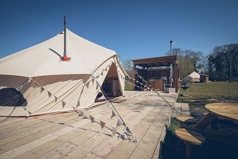 Glamp and Tipple - South Norfolk Glamping (Taittinger), location de vacances à Great Hockham