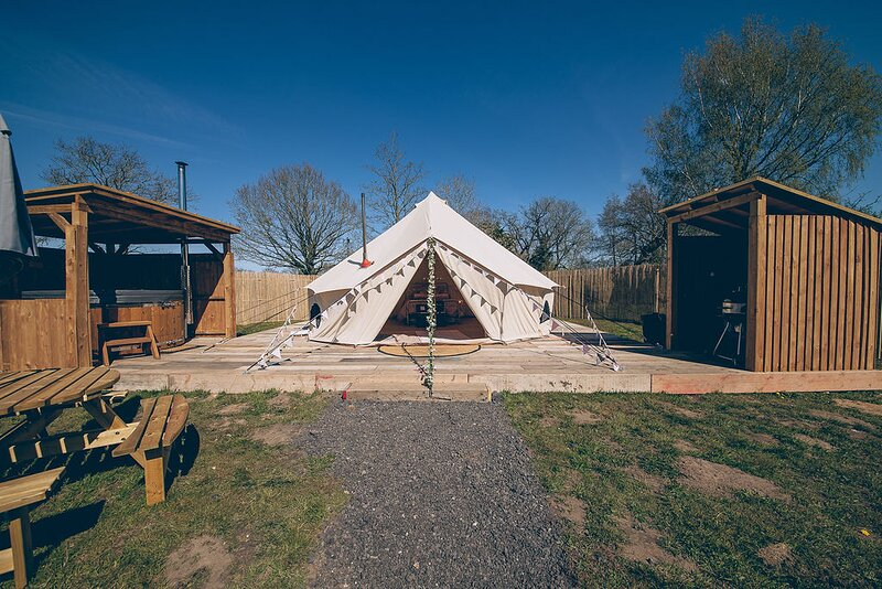 Glamp and Tipple - South Norfolk Glamping (Bollinger), location de vacances à Great Hockham