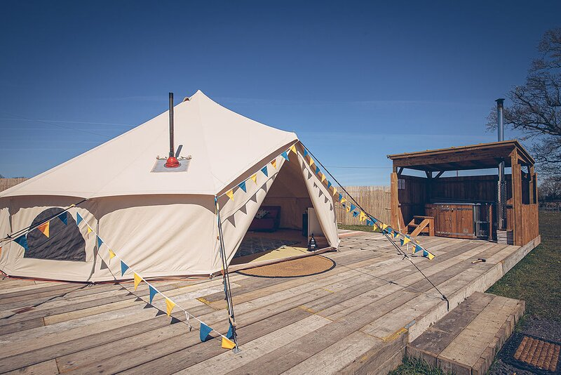Glamp and Tipple - South Norfolk Glamping (Krug), location de vacances à East Harling