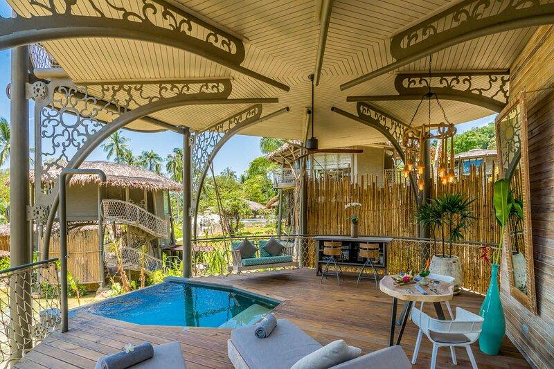 Ban Ba Kan Pa Villa Sleeps 2 with Pool and Air Con - 5810251, alquiler de vacaciones en Ao Luek