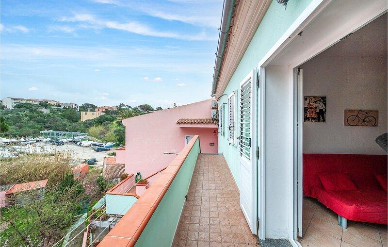 Nice apartment in La Maddalena with 1 Bedrooms (IGG184) – semesterbostad i Moneta