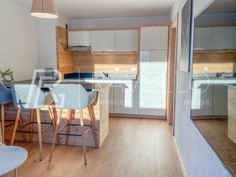 Appartement Megève 2 pièces, alquiler vacacional en Megève