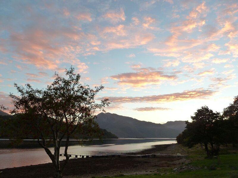 Sunset on Loch Leven