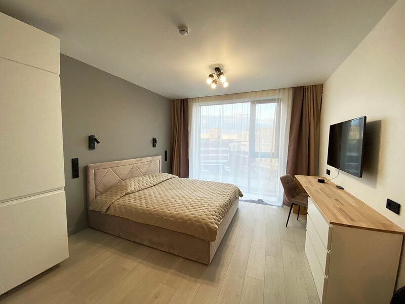 Apartment in the YARD with smart home in the historical center by Antanas, location de vacances à Vsevolozhsky District