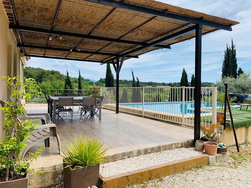 LE MAS DES CIGALES - 8 à 10 COUCHAGES - VISAN, location de vacances à Saint-Maurice-sur-Eygues