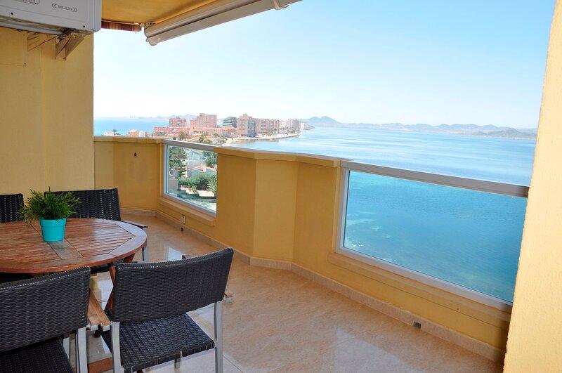 La Manga - Primera linea de Playa - 1 dormitorio, location de vacances à La Manga del Mar Menor