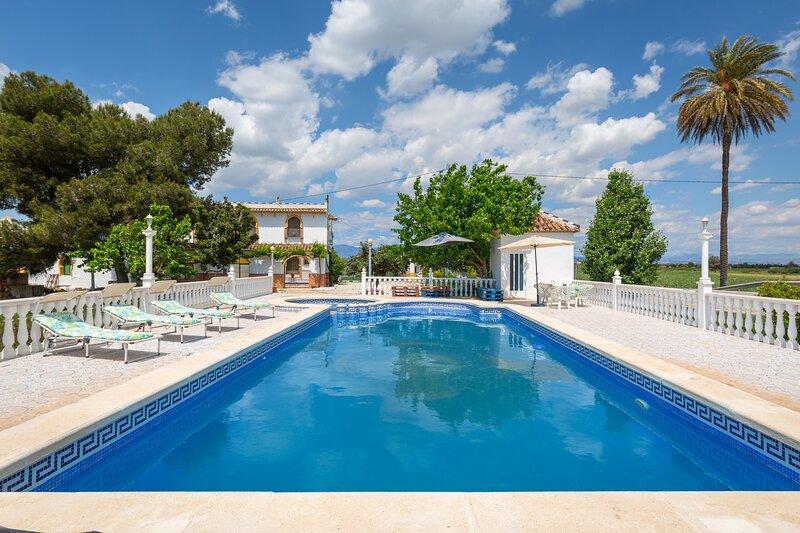 Fidalsa Villa Malagueña, holiday rental in Hondon de los Frailes