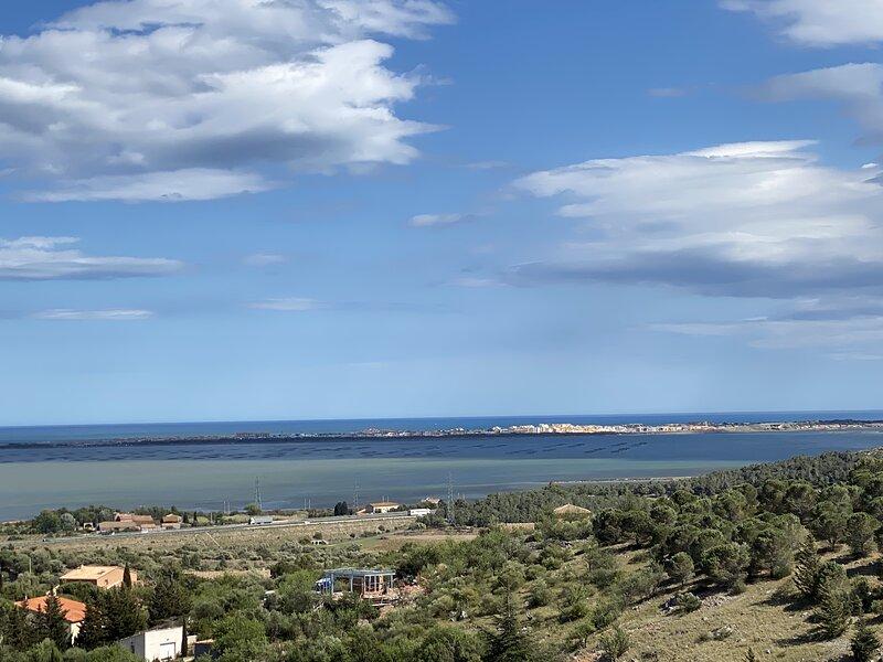 Hébergement entre Mer Méditerranée et Corbières, holiday rental in Treilles