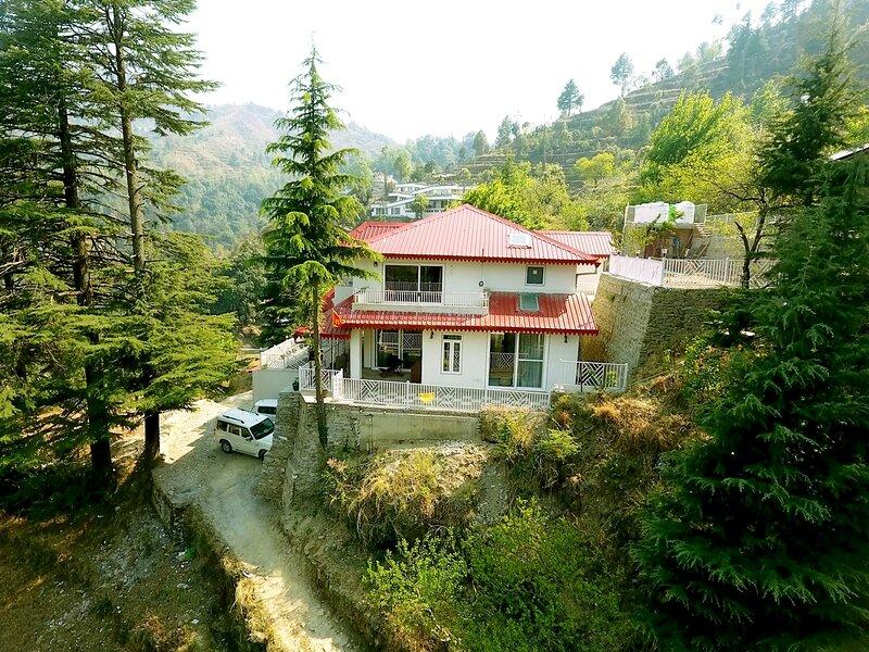 Vibhasa-Ronti, aluguéis de temporada em Bhowali