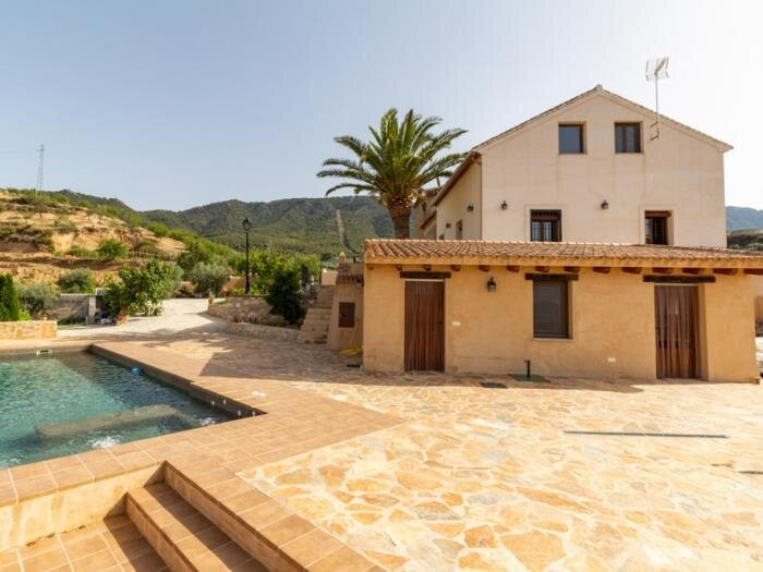 Beautiful cortijo with terrace, pool and magnificent views, vacation rental in Pinos del Valle