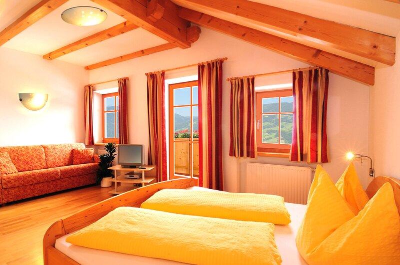 Chaletapartment Kronplatz Oberplunerhof, holiday rental in Valles