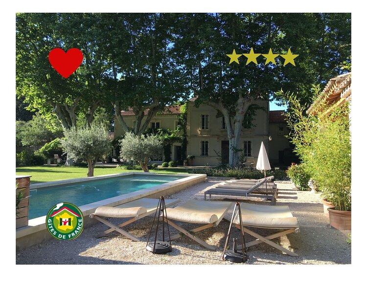 Au Mas des Pampres la Provence s'offre à vous, vacation rental in Saint Andiol