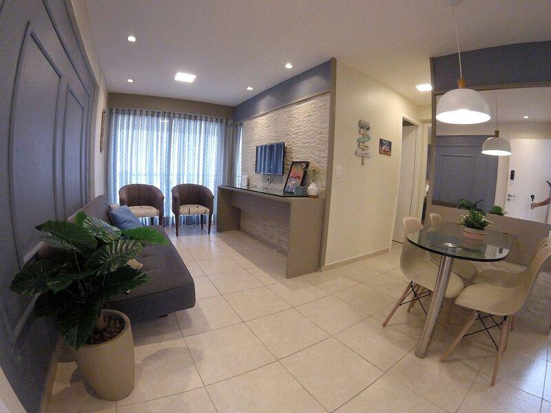 Ótimo Flat 2 quartos em frente ao mar, casa vacanza a Fortaleza