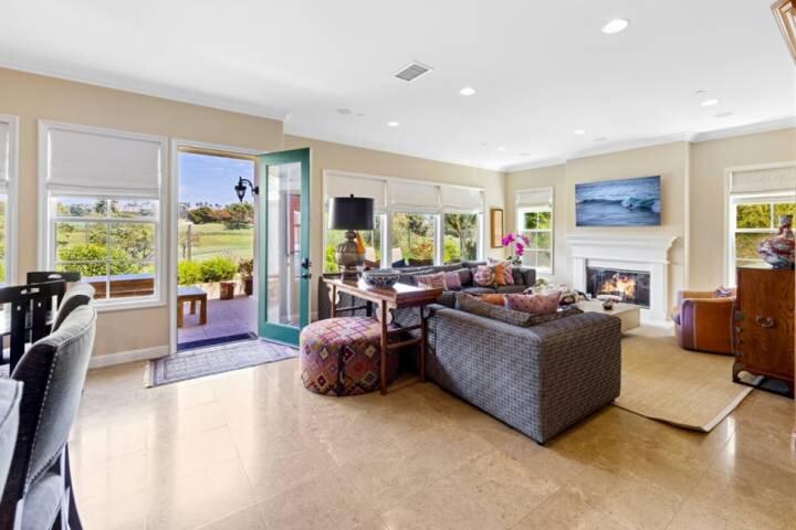 Golf Course View Home - walk to Salt Creek Beach!, holiday rental in Laguna Beach