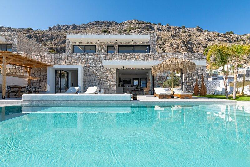 Lido Blue Villa, location de vacances à Pefkos