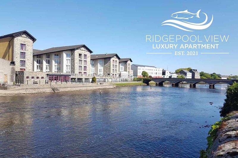 Ridgepool View, Ballina Apartment, Views of River Moy, Central location, location de vacances à Foxford