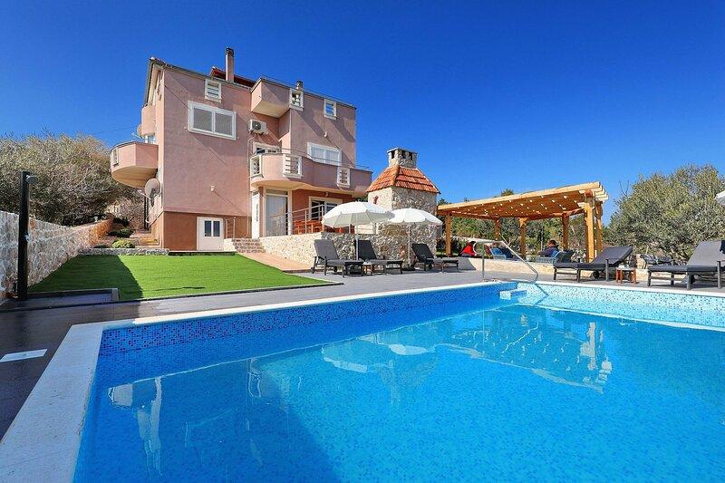 Stylish And Modern Sea View Apartment Giulia, holiday rental in Dobropoljana