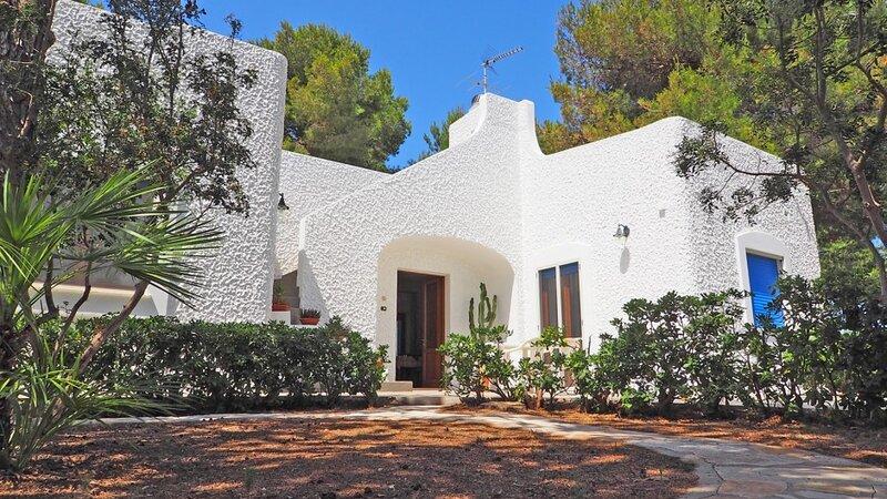 Villa indipendente a 50 mta. dal mare - Villa Marechiaro, holiday rental in Torre Suda