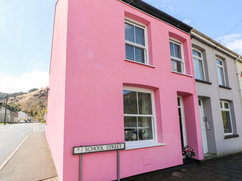 The Pink House, Treherbert, holiday rental in Blackmill