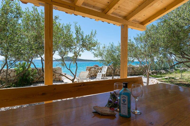 House Hacienda Stoerman, holiday rental in Kornat Island