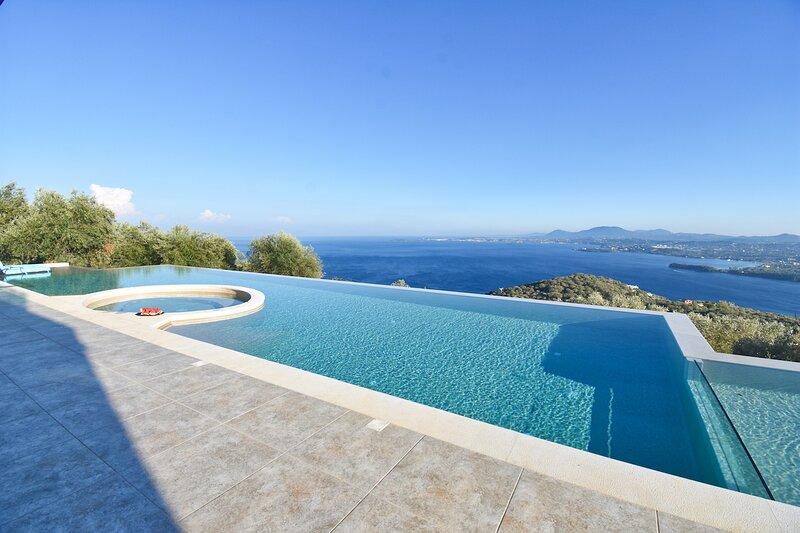Summerwine Villa, location de vacances à Spartilas