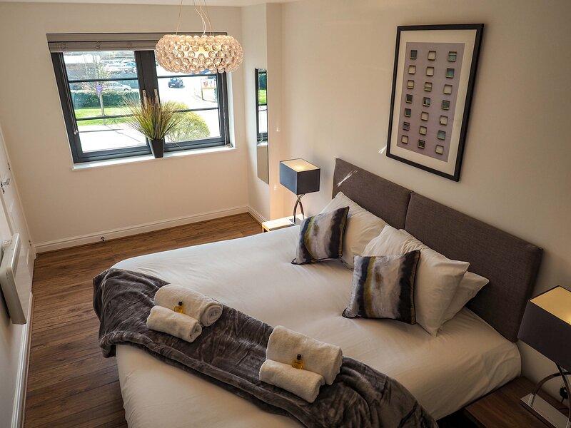 SA Today Apartments Farnborough (Fibre Wi-Fi & Netflix)! – semesterbostad i Dogmersfield