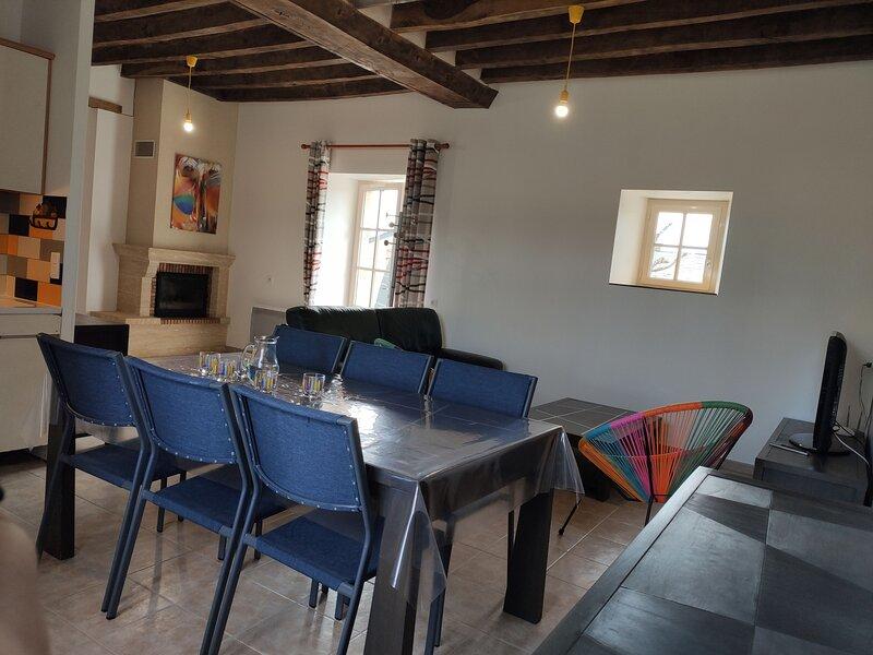 Neuf Sauveloup 6 personnes, aluguéis de temporada em Chateau-Gontier