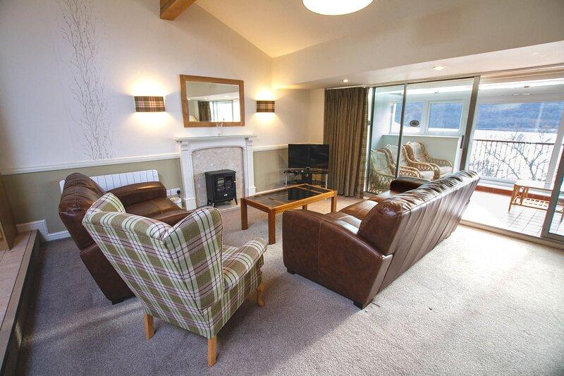 Loch Rannoch Highland Lodge (42), vacation rental in Kinloch Rannoch