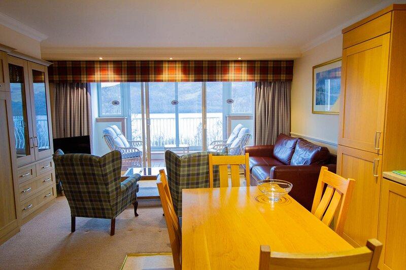 Loch Rannoch Studio Apartment (1), holiday rental in Kinloch Rannoch