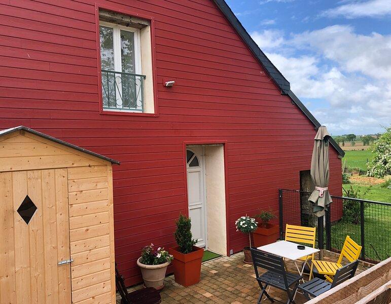La Maison LA - Gîte 4 à 6 personnes - Bretagne, entre Rennes et le Mt St Michel., vacation rental in Saint-Sulpice-la-Foret