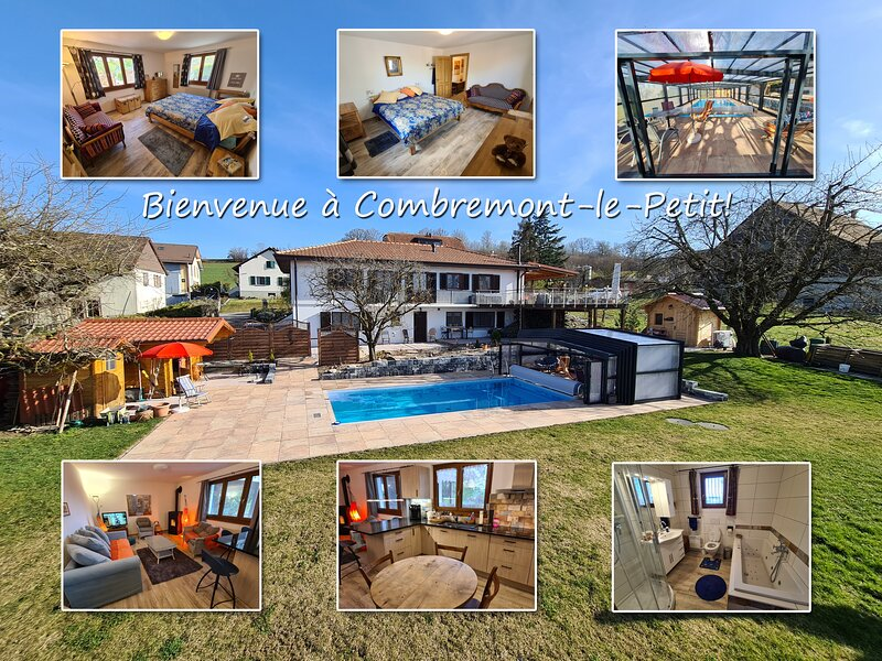 Holiday in Combremont-le-Petit, holiday rental in Lossy