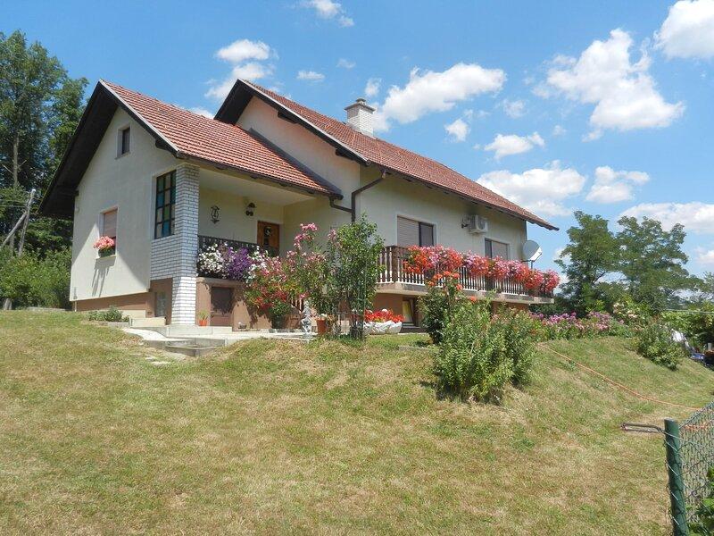 Urlaub für die Seele - Erholumg Pur in der Natur - Ferienhaus mit Sauna, location de vacances à Ormoz